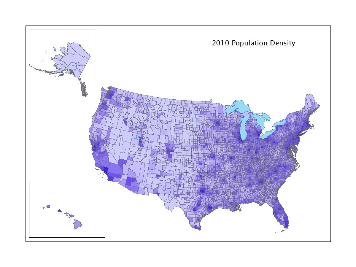 2010 Population Density